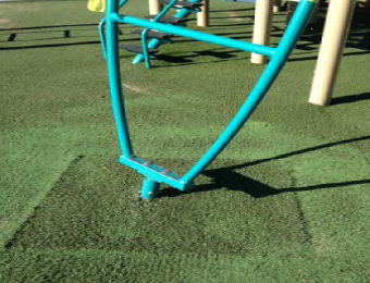 Playground repair after